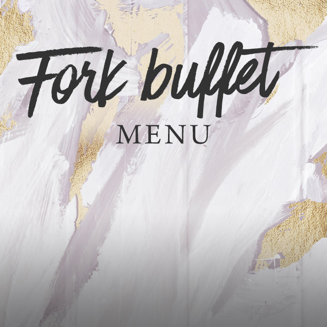 Fork buffet menu at The Whittington Arms