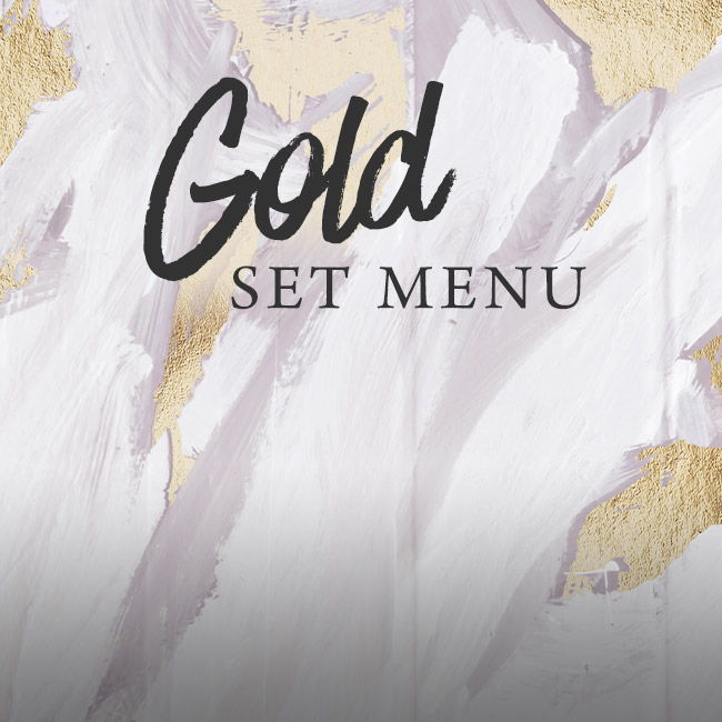 Gold set menu at The Whittington Arms