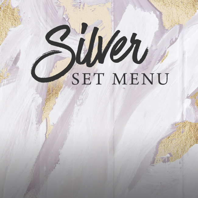 Silver set menu at The Whittington Arms