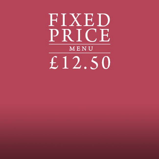 Fixed Price Menu at The Whittington Arms
