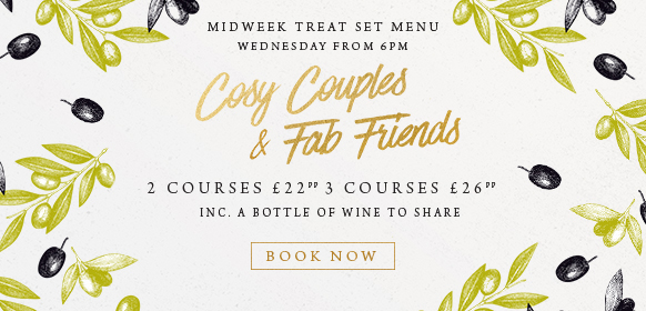 Midweek treat set menu at The Whittington Arms
